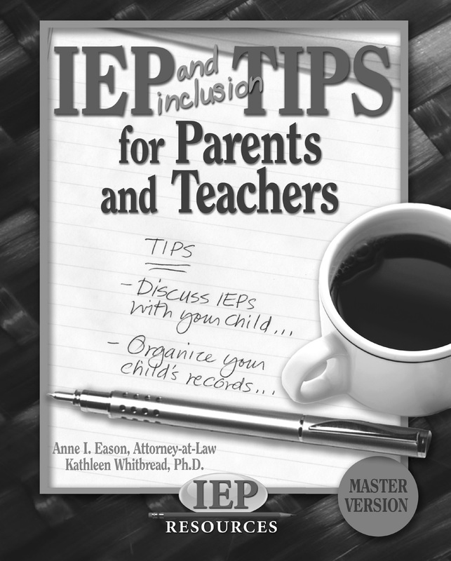 1  examples of iep and 504 plans